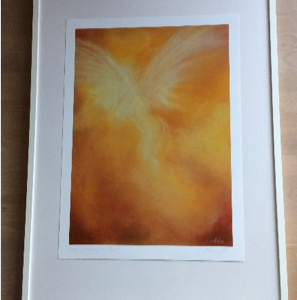 Glimpse of an Angel – Et glimt af en engel (2 stk) (Kopier)