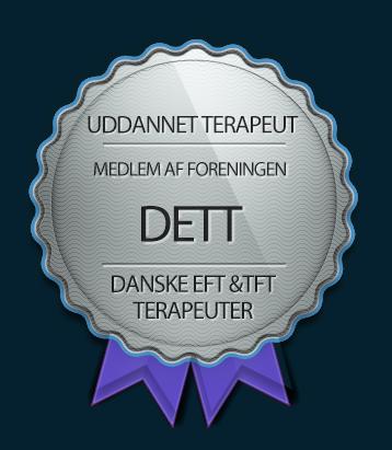 Tankefeltterapi er ikke noget man lærer over night. Det kræver uddannelse, og den har Jette K. Mortensen.