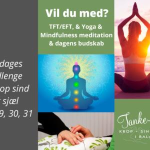 21 dages challenge – 13. juli – 2. aug.