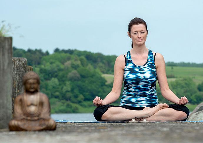Efter mit mindfulness- og yogakursus kan du dyrke det mange forskellige steder.