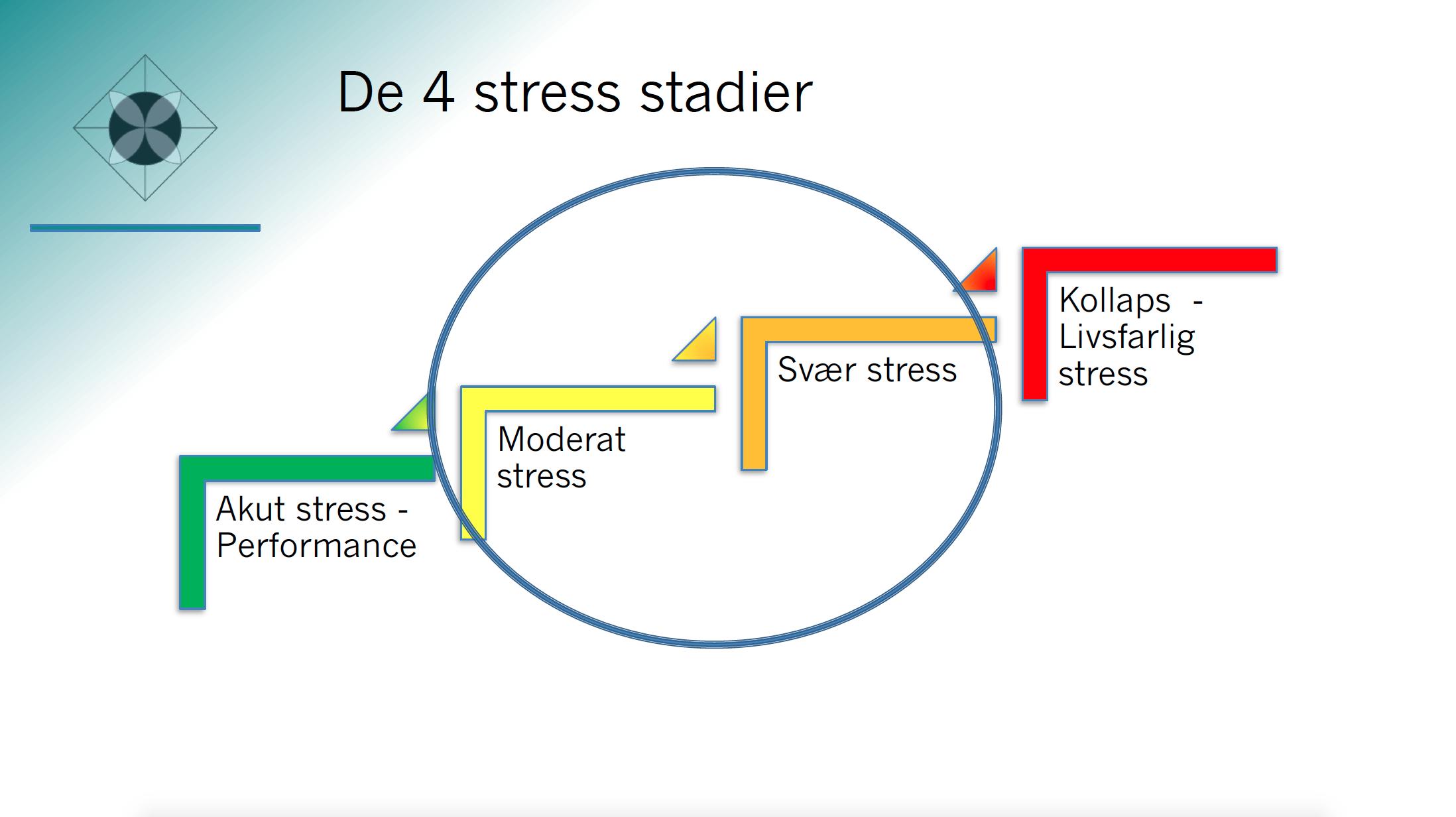 Bliv stressfri med De 4 Stress-stadier